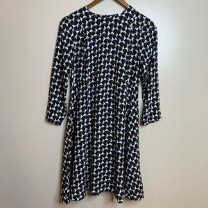 3/$20 H&M Geometric Mod Swing Mini Dress